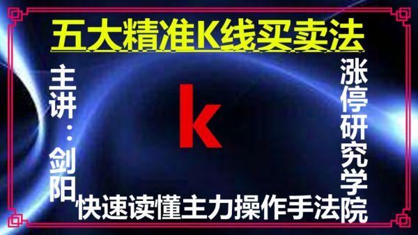 五大精准K线买卖法