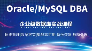 Oracle/MySQL DBA/OCP企业级数据库实战运维/容灾/集群/备份恢复