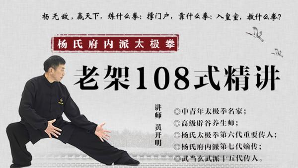 杨氏府内派太极拳老架108式