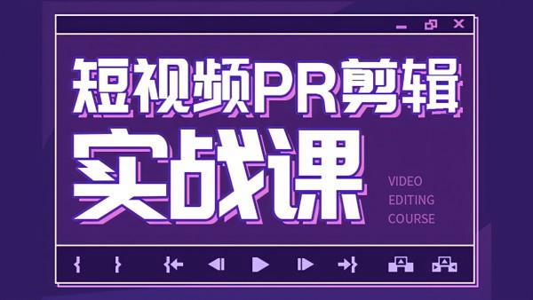 天琥教育 零基础入门短视频PR后期剪辑教程实战直播课