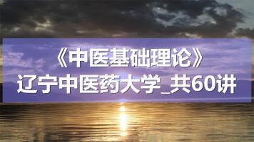 K1408_《中医基础理论》_辽宁中医药大学_共60讲
