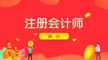 【学程教育】注册会计师-审计