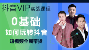 抖音短视频VIP课程高级班【录播】