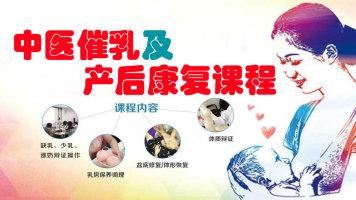 中医无痛催乳培训及产后康复培训课程