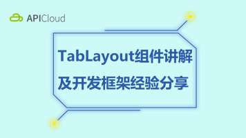 TabLayout组件讲解及开发框架经验分享