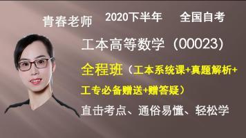 自考工本高等数学(00023)全程班(工本系统+真题大全+工专赠送