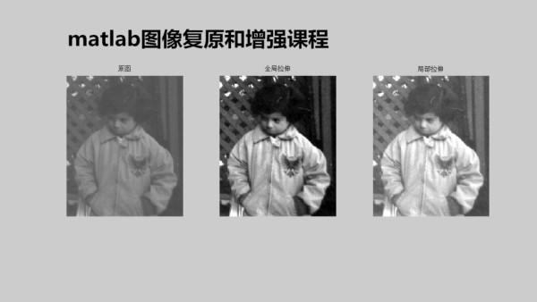 大仙matlab图像复原和图像增强技术(第一季)