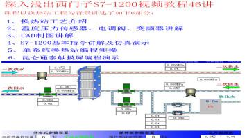 西门子S7-1200 PLC课程博途编程西门子1200PLC零基础入门视频教程
