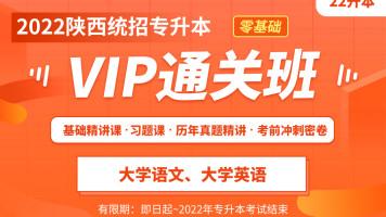 2022陕西专升本VIP通关班(文科)