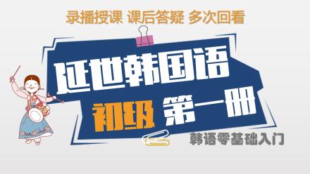 延世韩国语初级第一册精讲(零基础入门)【梓宁韩国语】