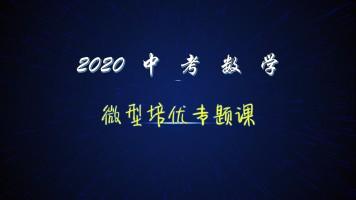 2020中考数学微型培优专题课