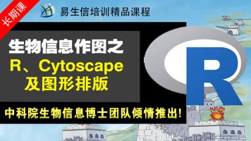 生信编程作图系列R、Cytoscape、AI使用 (生物信息学)(年课)