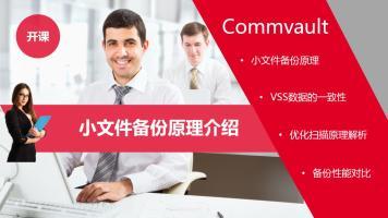 commvault小文件备份方案
