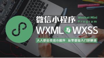 微信小程序入门(WXML与WXSS)