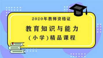 2020年教师资格证考试教育教学知识与能力(小学)课程
