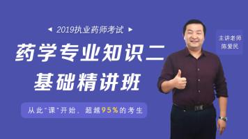 2019年执业西药师专业知识(二)基础精讲班