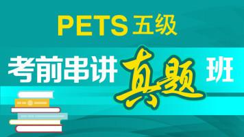 PETS五级(WSK)考前串讲真题班