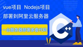 vue,nodejs项目部署到阿里云服务器,一台服务器部署多套代码