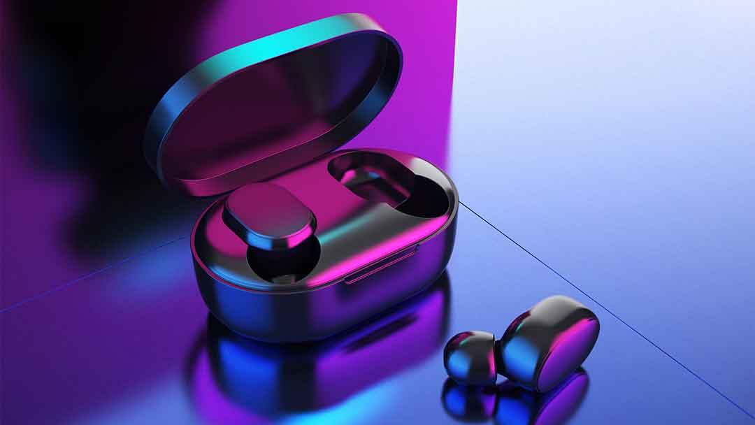 蓝牙耳机-Rhino/犀牛极致曲率建模+Keyshot红蓝光渲染技巧