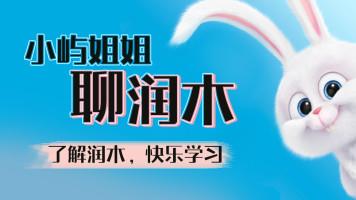 小屿姐姐聊润木/素描/彩铅/国画/水彩/速写/美术