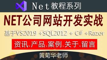 Net公司网站开发实战(基于vs2019、SQL2012、razor、c#)学习班