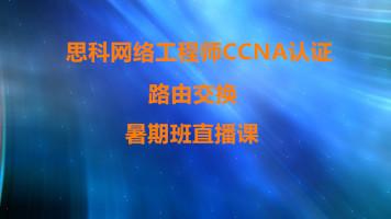 思科网络工程师CCNA认证路由交换方向暑期值班课