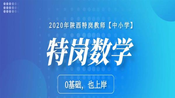 2020年陕西特岗教师——数学学科专业知识【中小学】