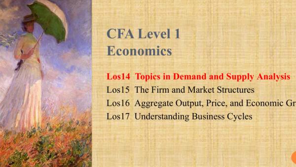 CFA Level Economics