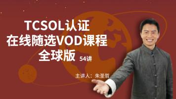 TCSOL对外汉语师资培训视频教程【全球版】【最佳推荐】
