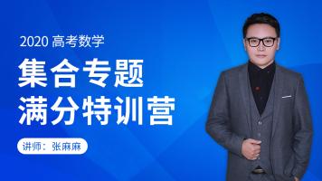 2020高中数学 集合专题特训营/讲义+答疑+督学
