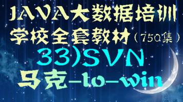 Java大数据培训学校全套教材-33)SVN