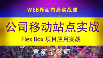 flex box-项目实战-公司移动站点设计实战