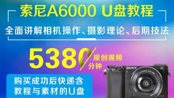 U盘版-索尼A6000摄影从入门到精通