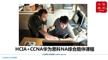 HCIA+CCNA华为思科NA综合陪伴课程