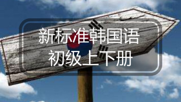 《新标准韩国语》初级上下册精讲课程(含答疑服务)【小鹿韩语】