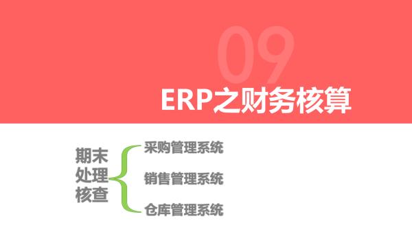 ERP 财务核算