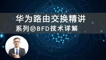 华为HCIP/HCNP路由交换精讲系列⑰BFD技术详解视频课程[肖哥]