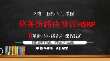 CCNA 0基础学网络系列29:热备份路由协议HSRP
