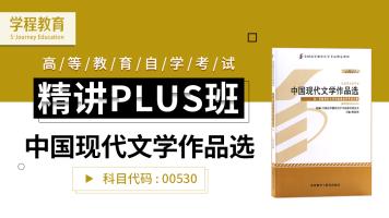 自考00530中国现代文学作品选 精讲PLUS班【学程教育】