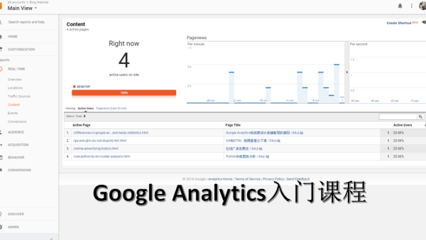 Google Analytics基础入门