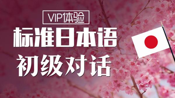 【VIP体验班】日语初级对话 新标准日本语初级