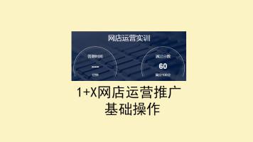 高职1+X网店运营推广高级ITMC运营系统基础操作视频讲解