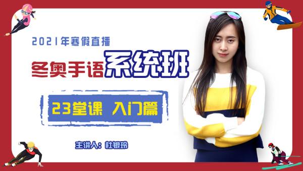 【21寒】入门(23课)   零基础中国手语(自然手语)系统学习