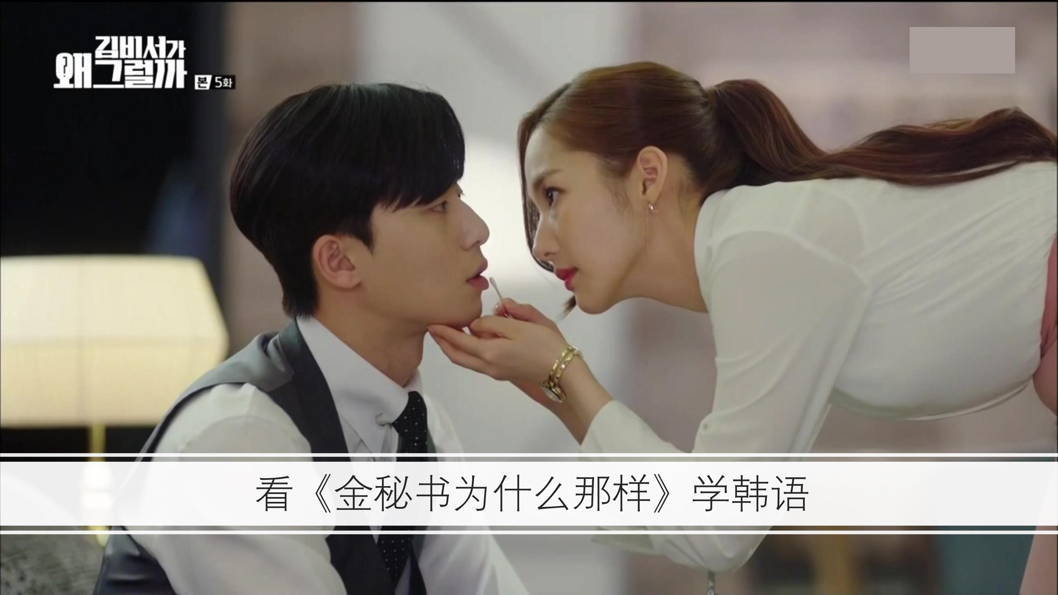 看韩剧《金秘书为什么那样》学韩语