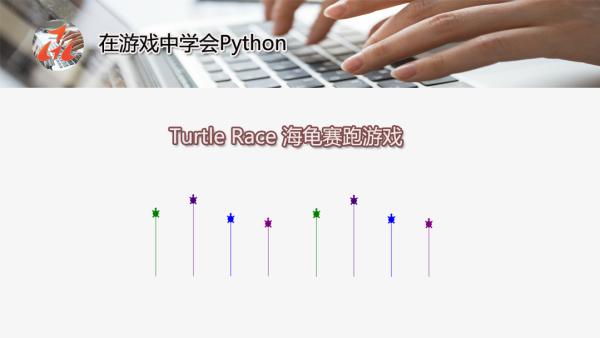 Python编程 | 海龟绘图:Turtle Race 海龟赛跑游戏