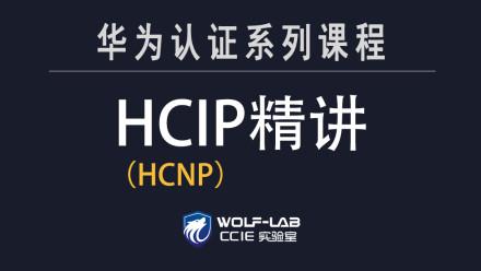 5IE讲师,WOLF实验室HCIP(HCNP)课程-精品VIP课程