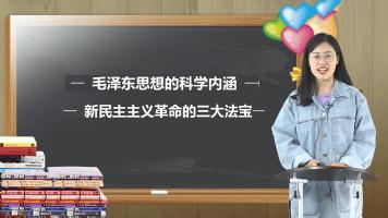 毛泽东思想与新民主革命