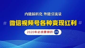 微信视频号小视频微信电商快速涨粉能引流能转化2020后半年新红利