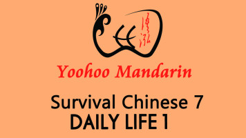 Survival Chinese 7---Daily life 1