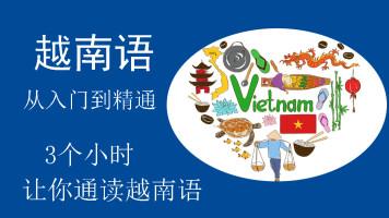 越南语从入门到精通初级实用拼音发音调字母语法会话日常用语单词